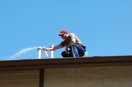 This is a picture of an exterminator - Pest exterminators near me (Pleasanton)